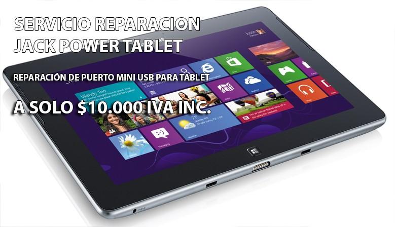 Reparacion USB Tablet